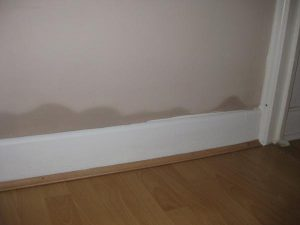 Rising damp example