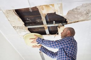 water damage bowl ladder