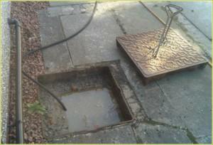 blocked drain