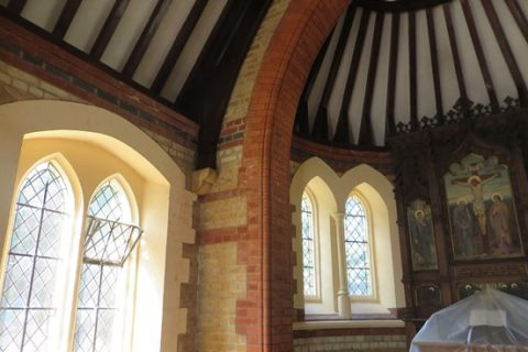 Dry Rot At The Chapel, Weybridge, Surrey