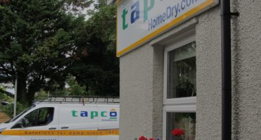 Tapco sign and van