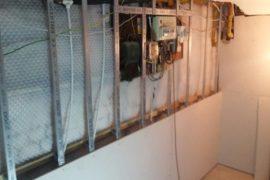 Basement Damp Proofing System, Knightsbridge.