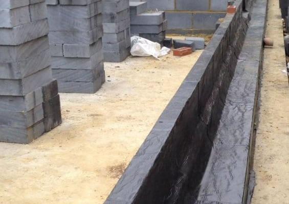 high density damp proofing